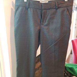 Banana Republic Charcoal Gray Pants Size 2 EUC